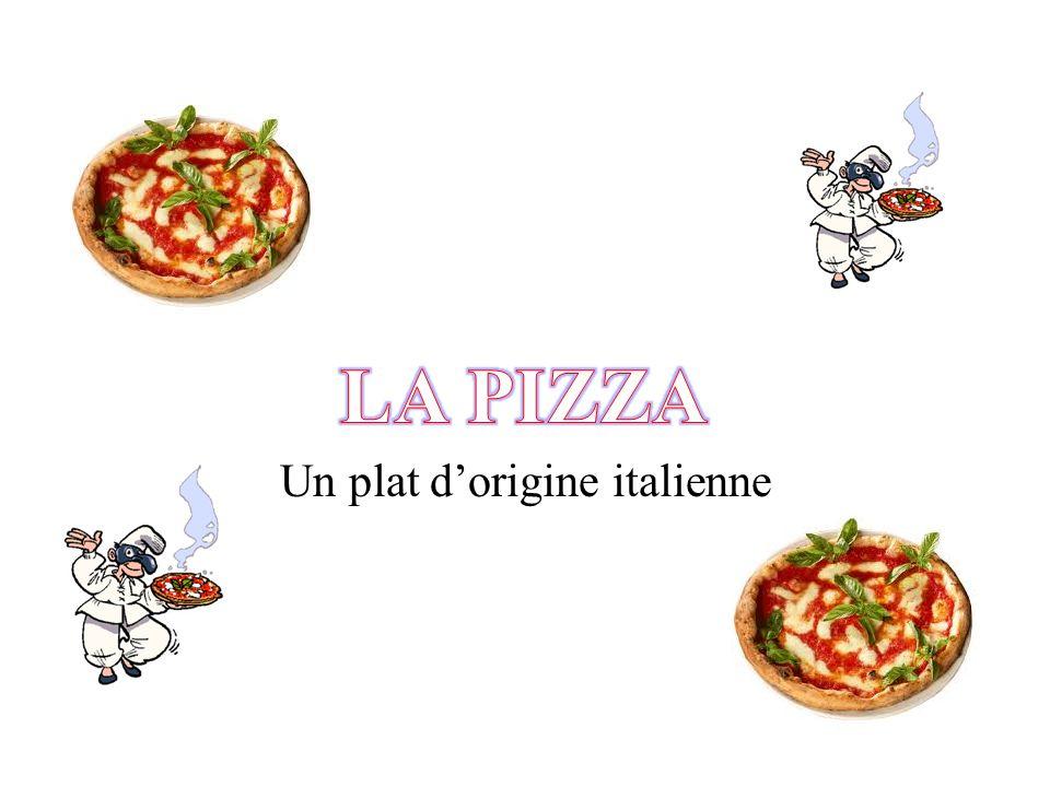 Un plat dorigine italienne