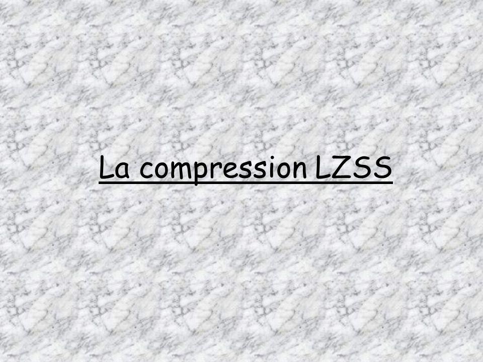 La compression LZSS