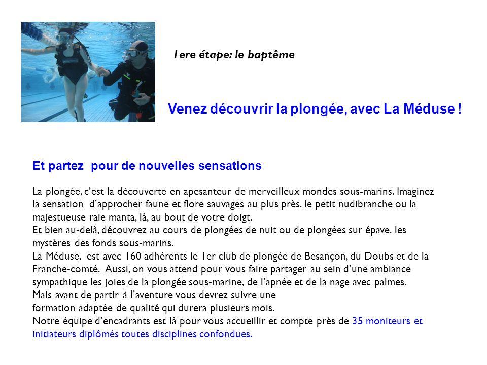 Nous assurons les formations de la Fédération Française de Sports Sous-marins ( FFESSM ) : - brevets de plongée du niveau 1 au niveau 4 - formations des encadrants de plongée ( Initiateurs, Prépa MF1) - brevets dapnée du niveau 1 au niveau 3 - Certifications Nitrox et Nitrox confirmé - Brevet recycleur semi-fermé Clin dœil à la Corse, Coraux tricolore, Bora Bora, Polynésie Notre club, est le seul du Doubs à avoir également un staff dencadrement de lorganisation PADI PADI est la plus importante organisation mondiale de plongée.
