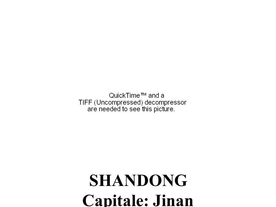 SHANDONG Capitale: Jinan