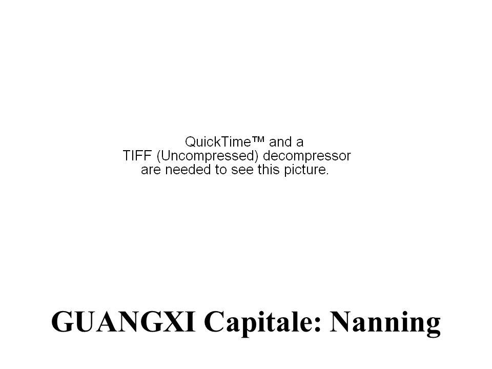 GUANGXI Capitale: Nanning