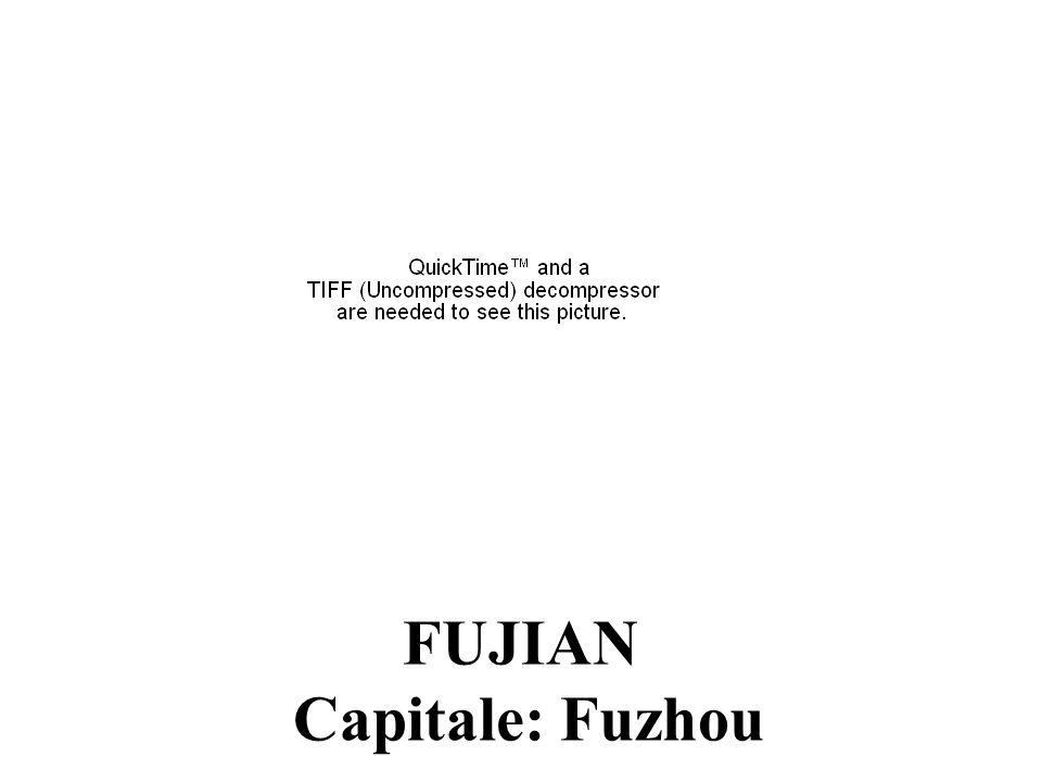 GANSU Capitale:Ganzhou