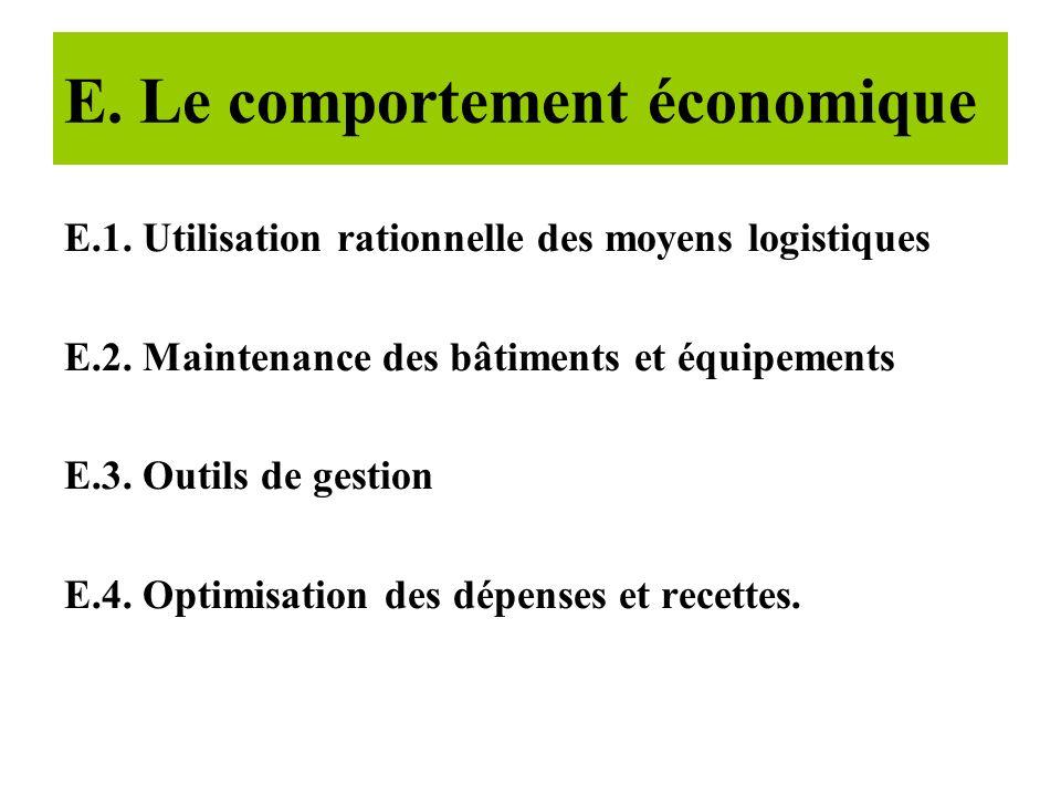 D. La compétence technique D.1. Formations continue correctement exécutées ( plan de formation continue et recyclage) D.2. Conformité des pratiques mé