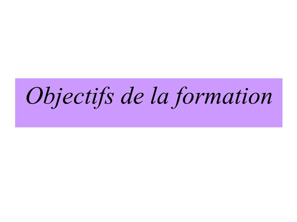 wLefficience ( rapport coût-efficacité) wLa continuité wLinnocuité.