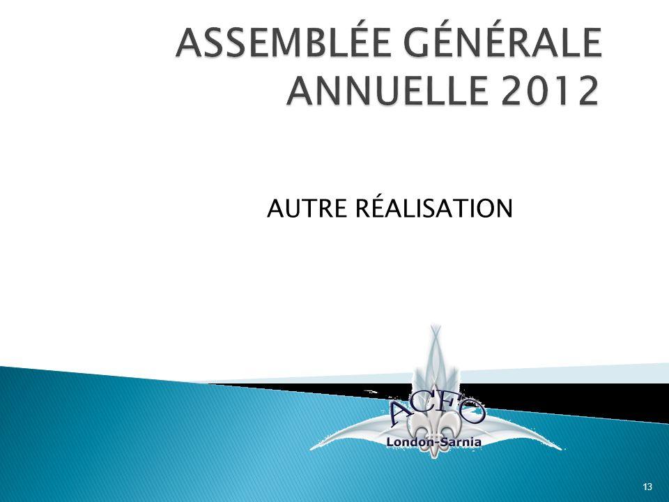 AUTRE RÉALISATION 13