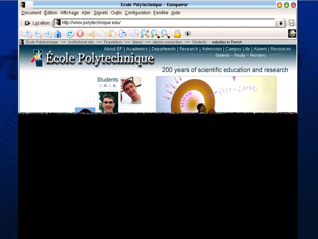 Les forums 2/2 Deux interfaces (contraintes de bureau...) Logiciel de forum Client web