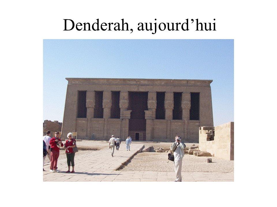 Denderah, aujourdhui