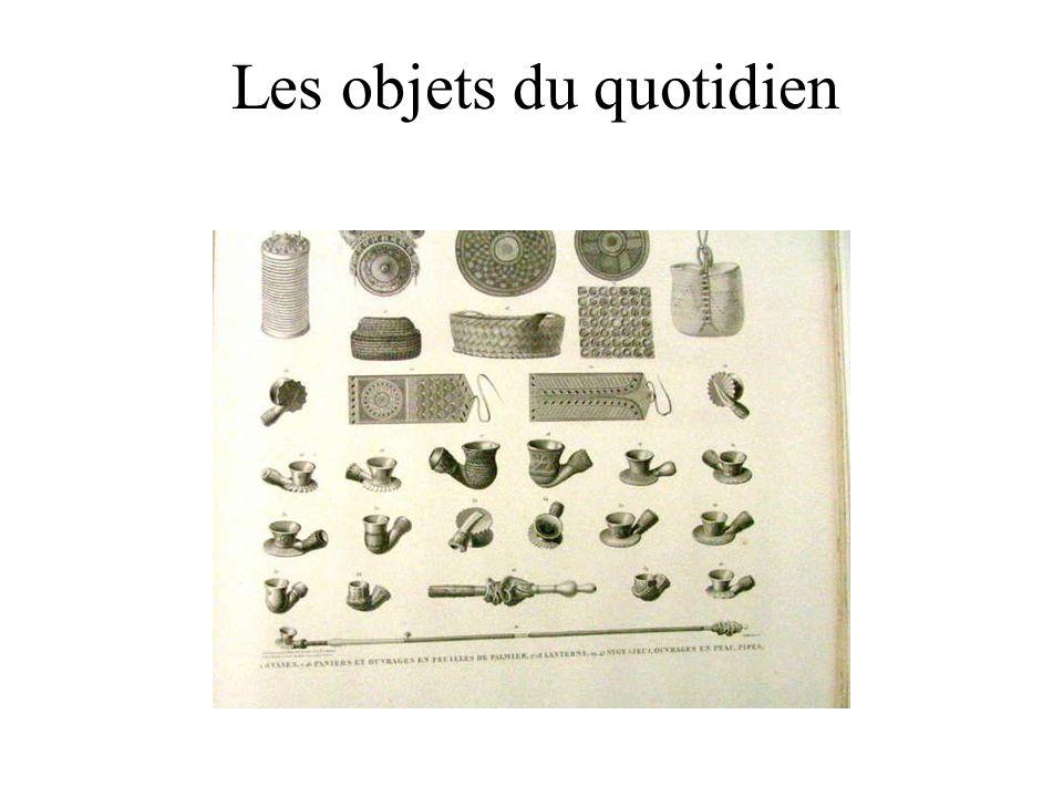 Les objets du quotidien