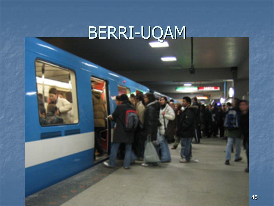 45 BERRI-UQAM