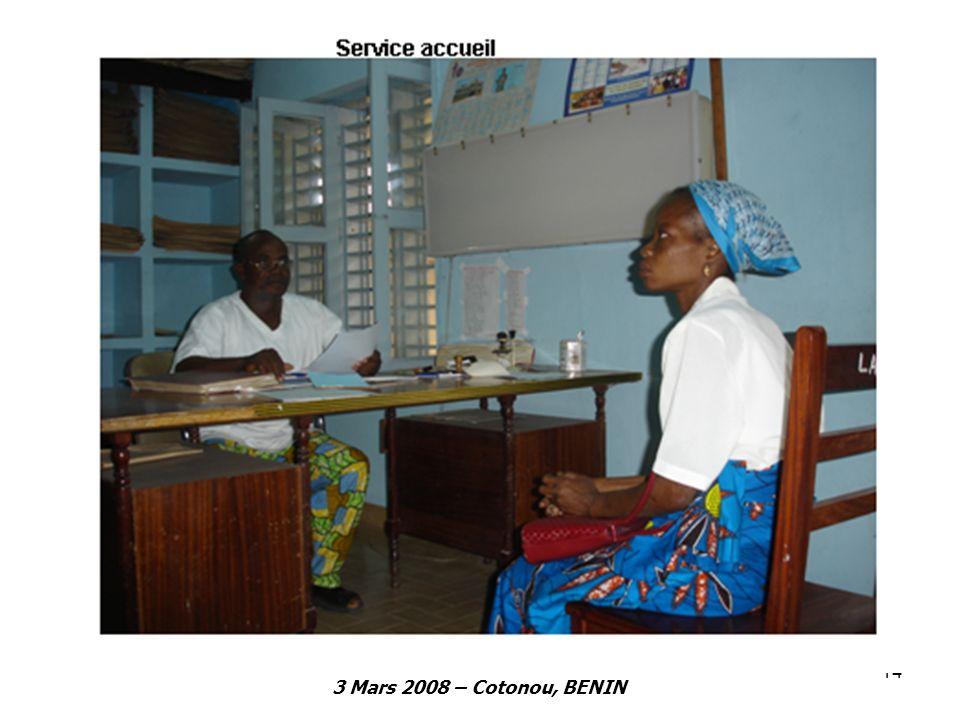 3 Mars 2008 – Cotonou, BENIN 14