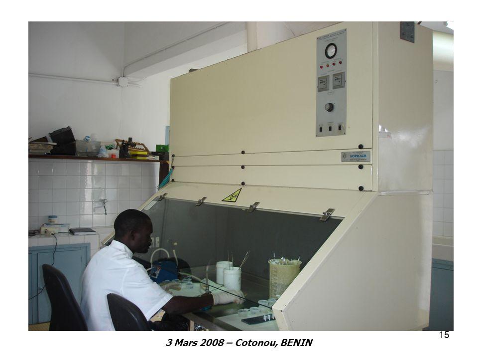 3 Mars 2008 – Cotonou, BENIN 15