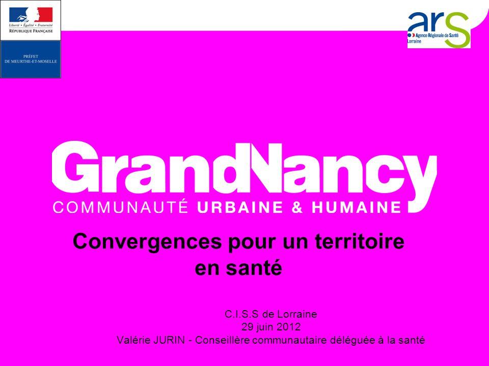 C.I.S.S de Lorraine - AG du 29 juin 2012 - Valérie JURIN 2 Quest-ce un Contrat Local de Santé (C.L.S.) .