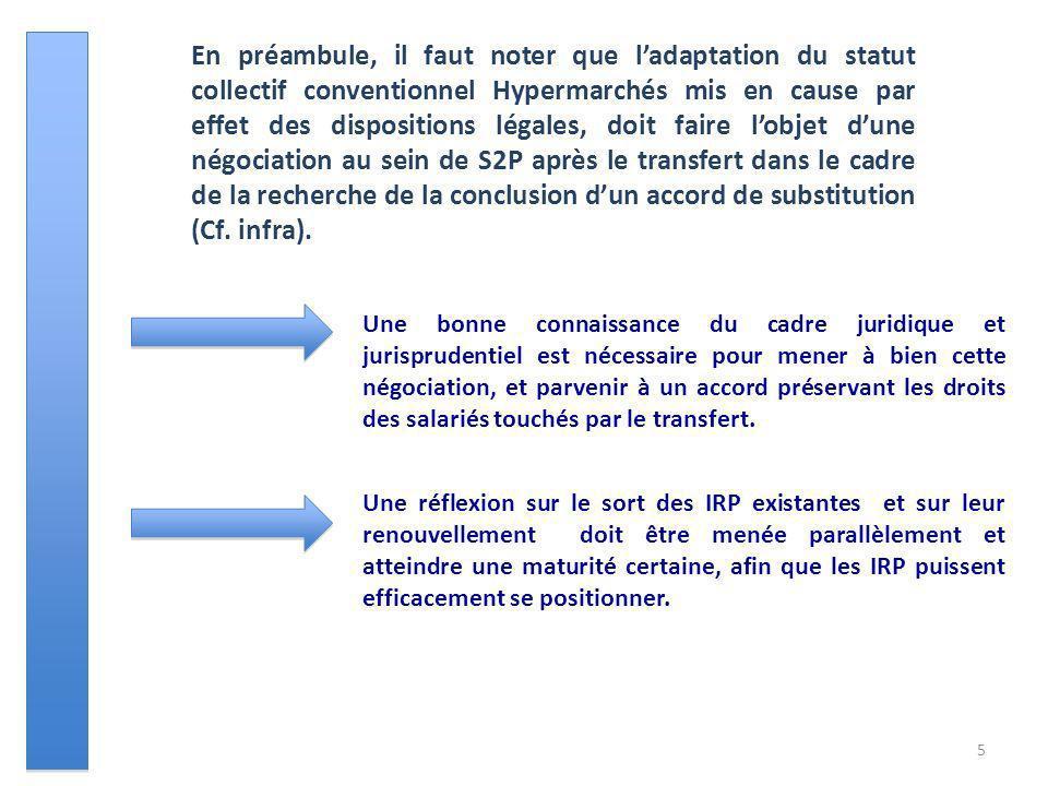 Une bonne connaissance du cadre juridique et jurisprudentiel est nécessaire pour mener à bien cette négociation, et parvenir à un accord préservant le
