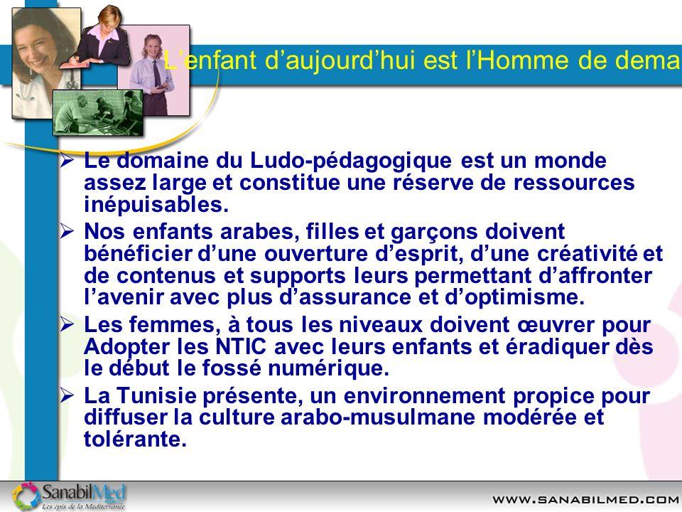Lenfant daujourdhui est lHomme de demain Le domaine du Ludo-pédagogique est un monde assez large et constitue une réserve de ressources inépuisables.