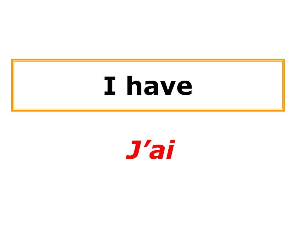 I have Jai