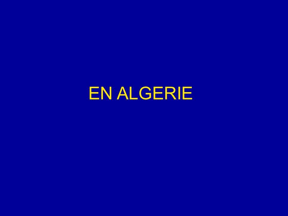 EN ALGERIE