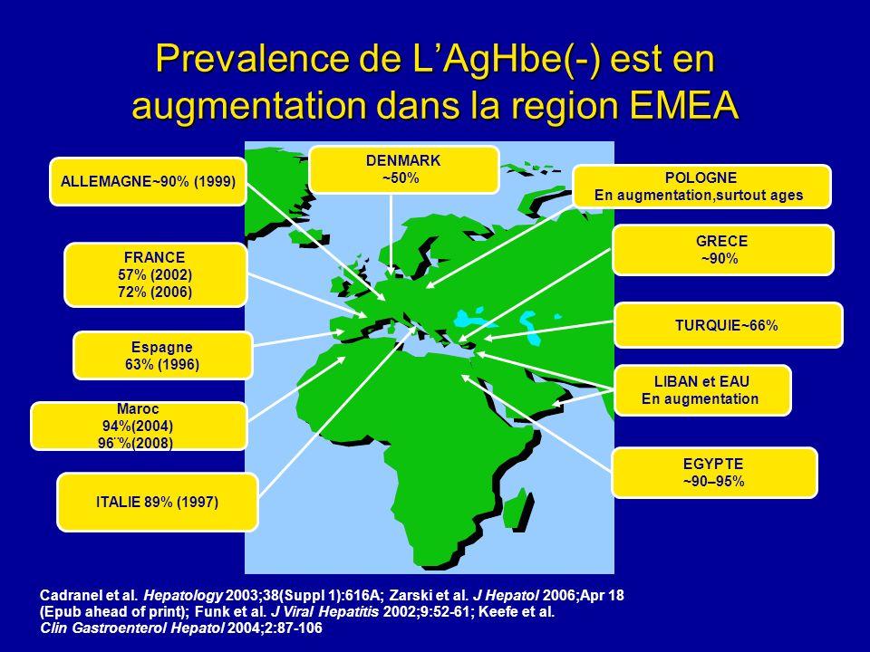Genotypes HBV A et D sont les plus frequents dans la region EMEA Genotypes HBV A et D sont les plus frequents dans la region EMEA Fung et al.