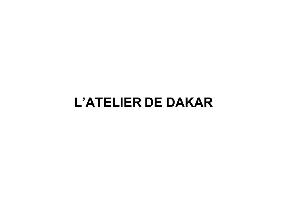 LATELIER DE DAKAR