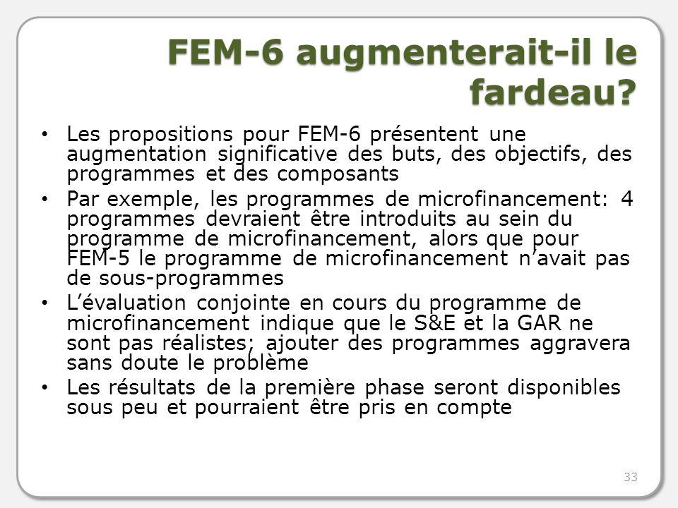 FEM-6 augmenterait-il le fardeau.
