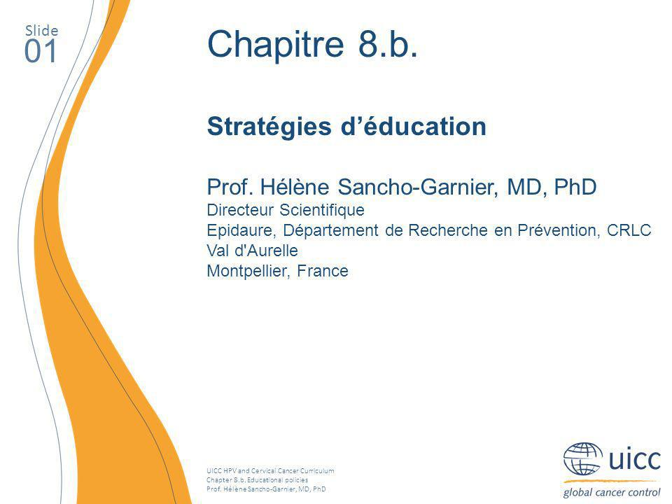 UICC HPV and Cervical Cancer Curriculum Chapter 8.b.