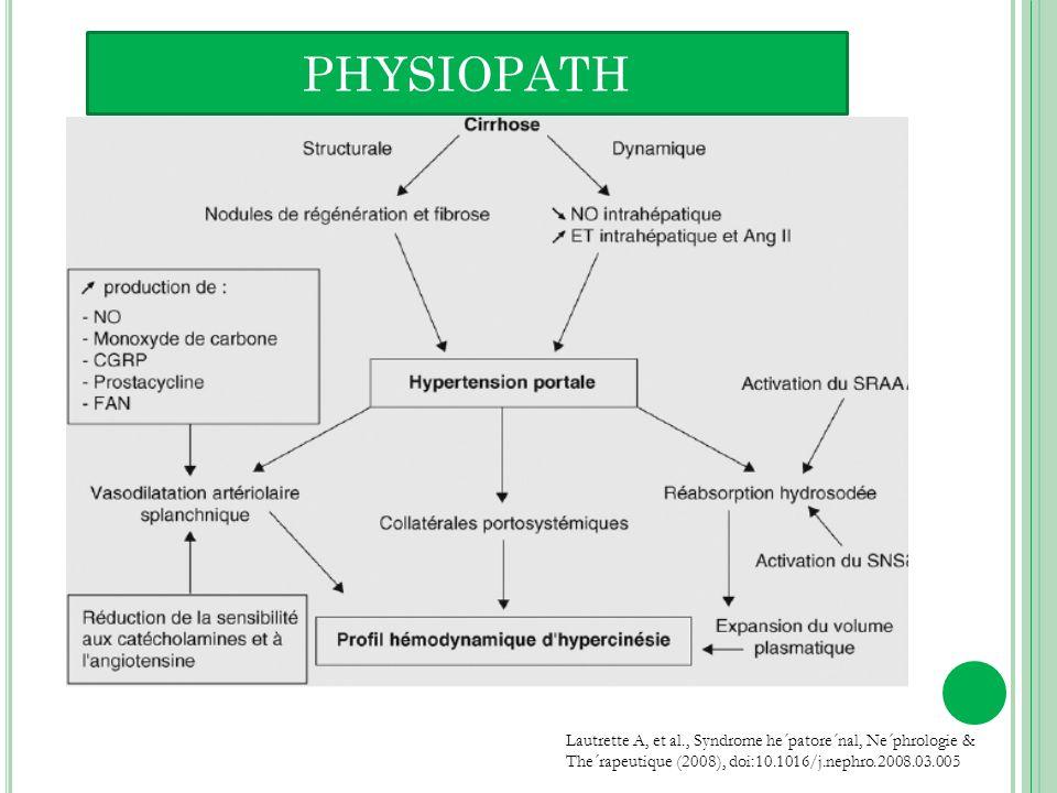 Les analogues de la vasopressine (Terlipressine, Ornipressine) puissants vasoconstricteurs splanchniques et systémique.