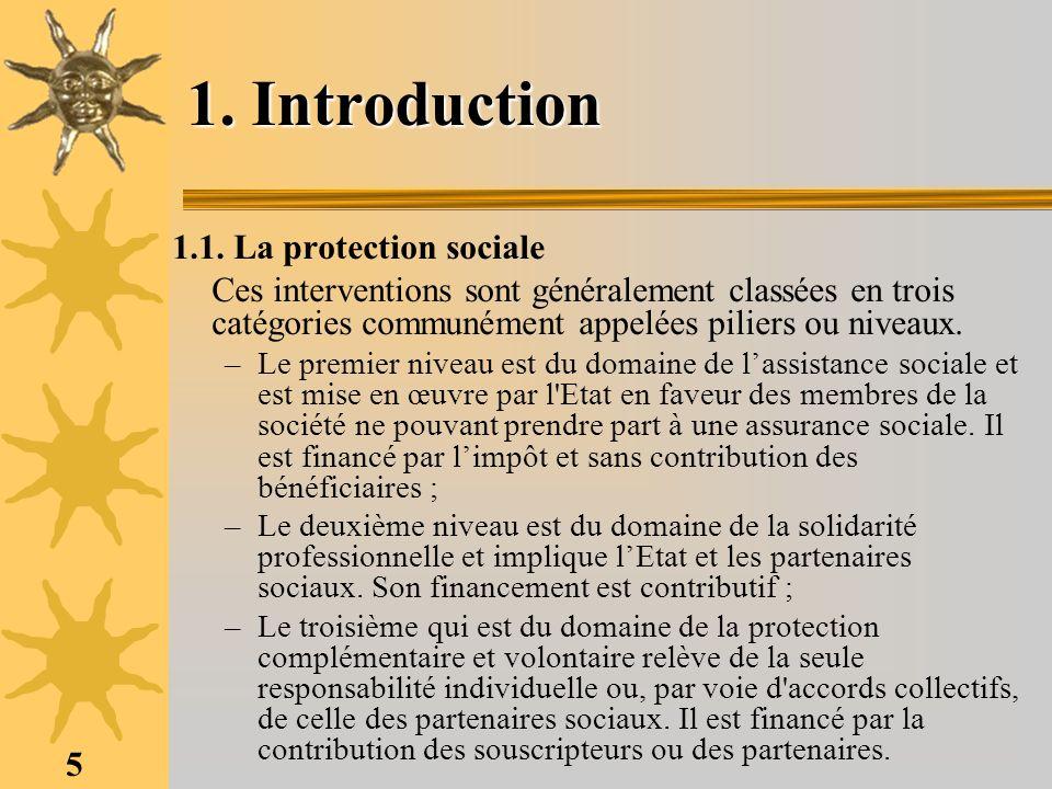 26 3- La Conférence Interafricaine de la Prévoyance Sociale (CIPRES) 3.1.