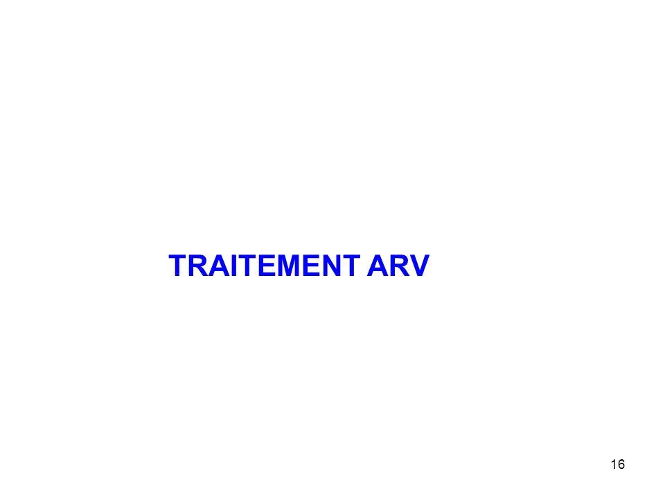 16 TRAITEMENT ARV