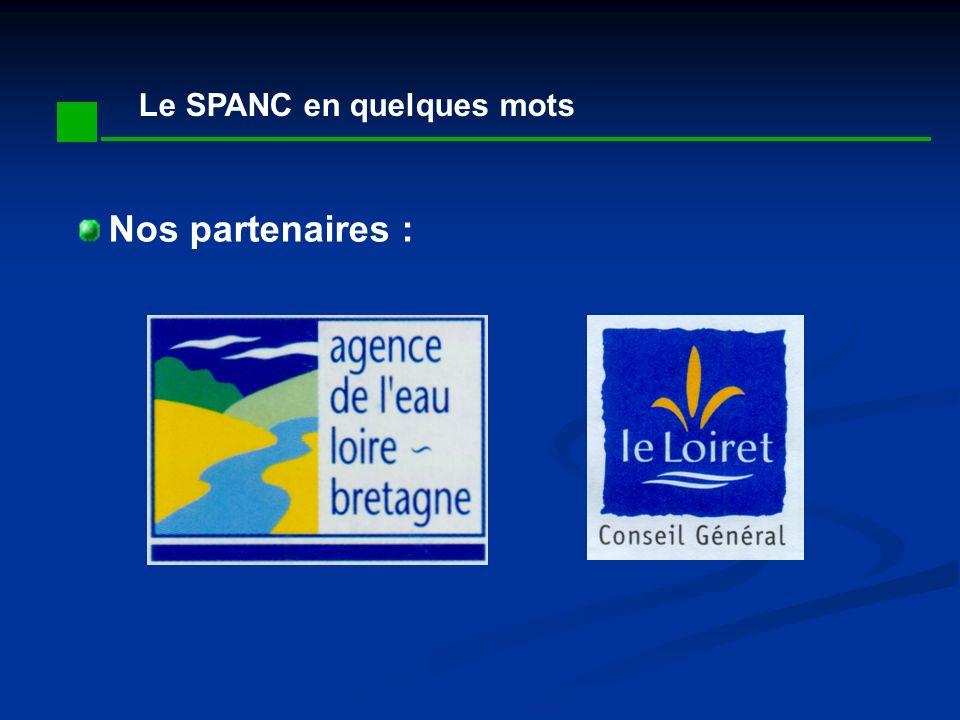 Le SPANC en quelques mots Nos partenaires :