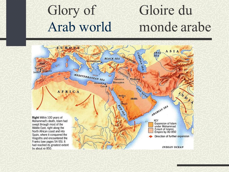 Glory of Gloire du Arab world monde arabe