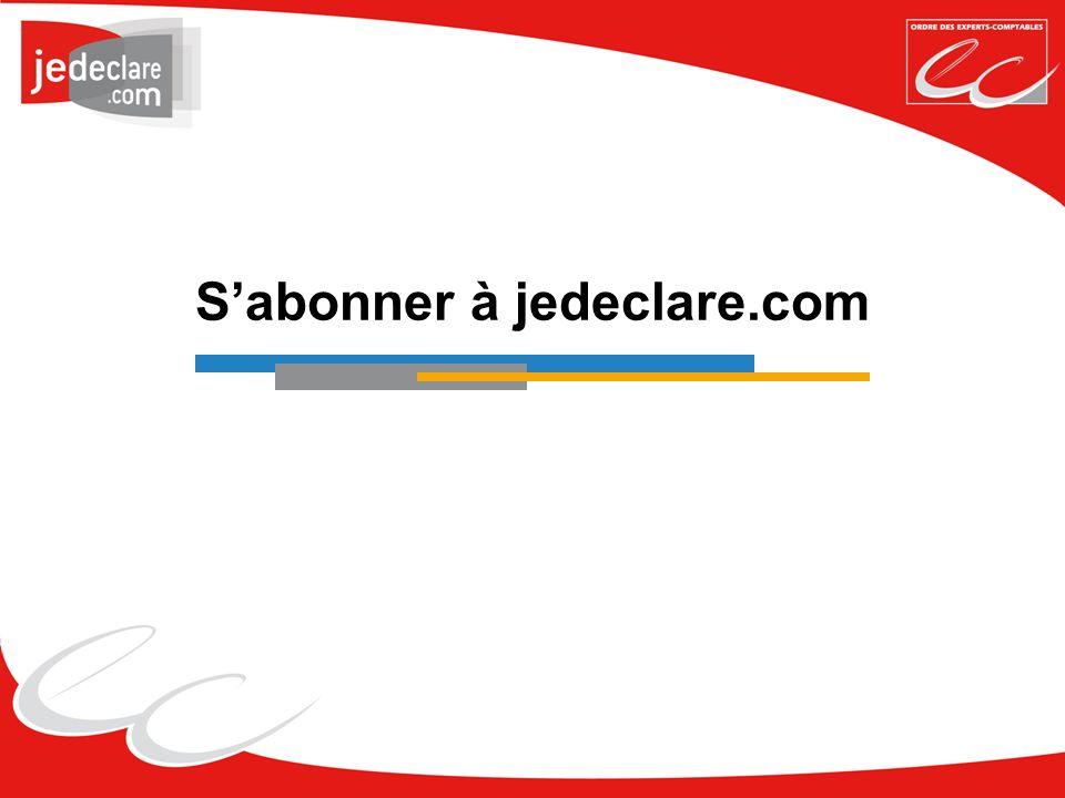 Sabonner à jedeclare.com