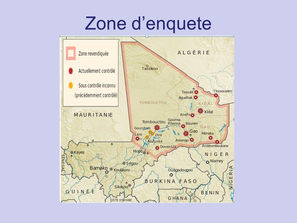 Zone denquete