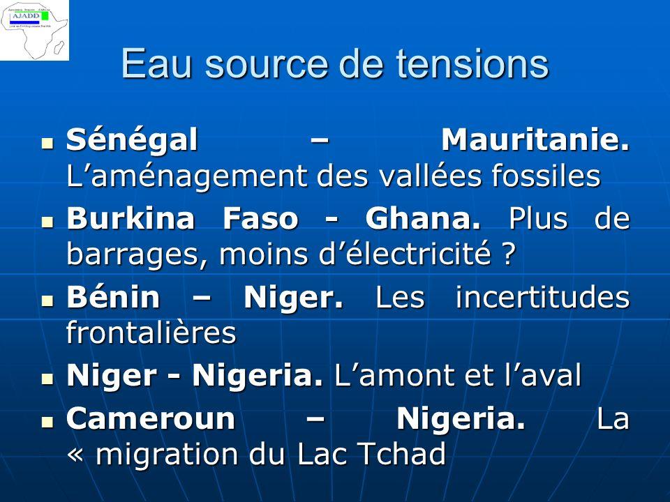 « Leau est une ressource limitée et vulnérable qui est indispensable à la vie au développement et à lenvironnement ».