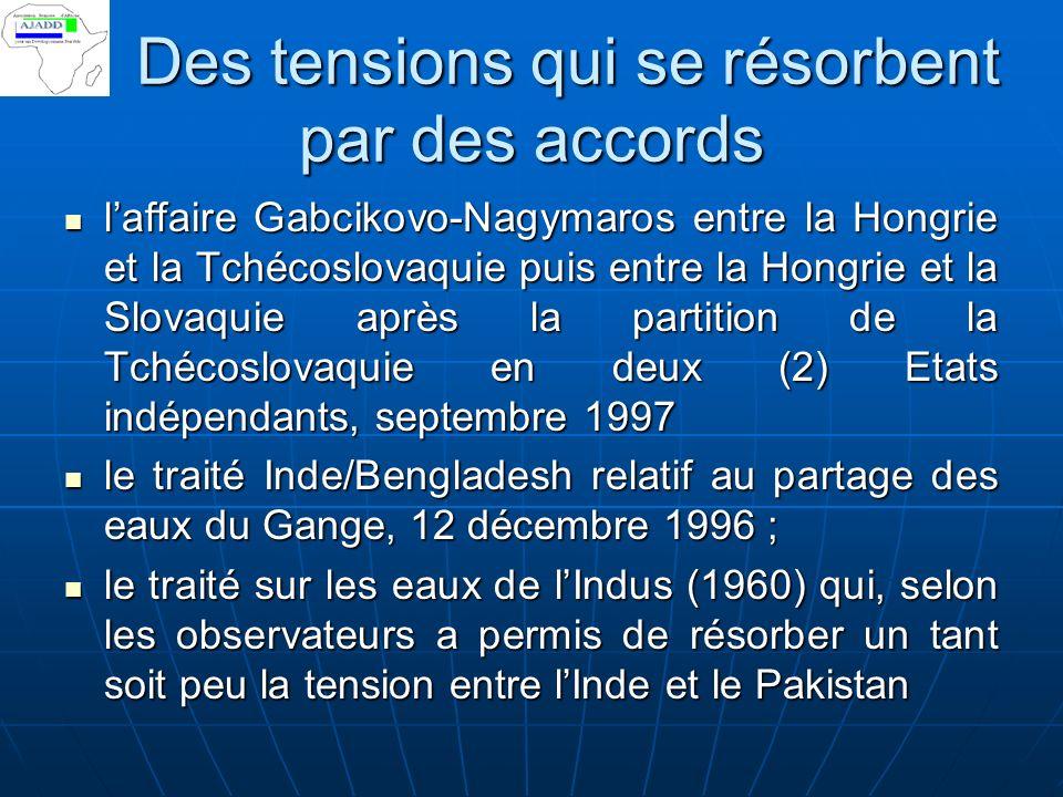 Eau source de tensions Sénégal – Mauritanie. Laménagement des vallées fossiles Sénégal – Mauritanie. Laménagement des vallées fossiles Burkina Faso -