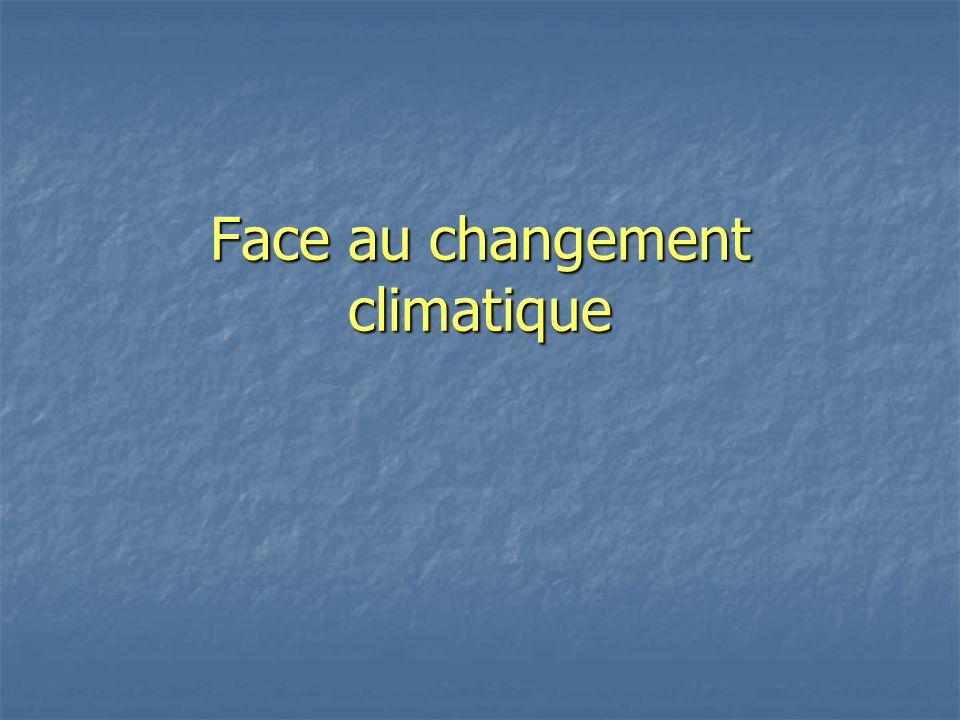 Plan 1.Le climat et sa perturbation 2. Impacts 3.