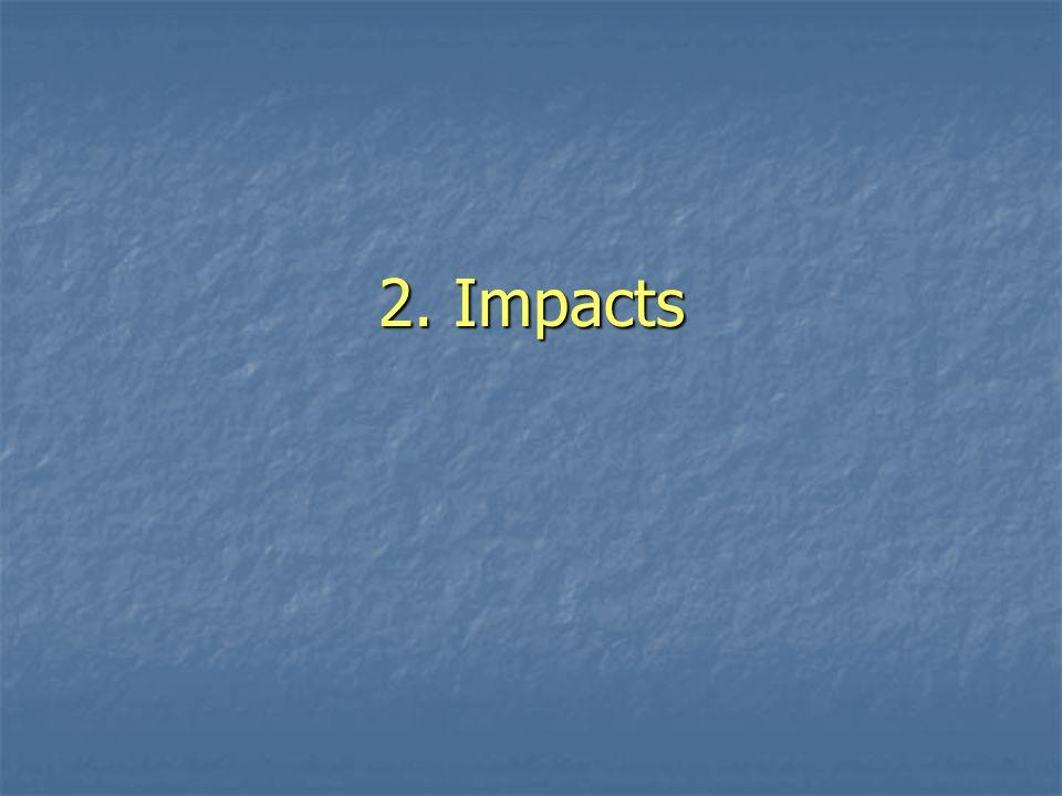 2. Impacts