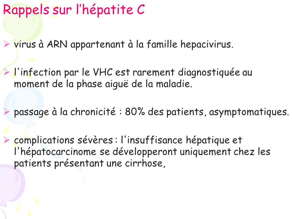 HVC chronique : prévalence élevée danomalies immunologiques.