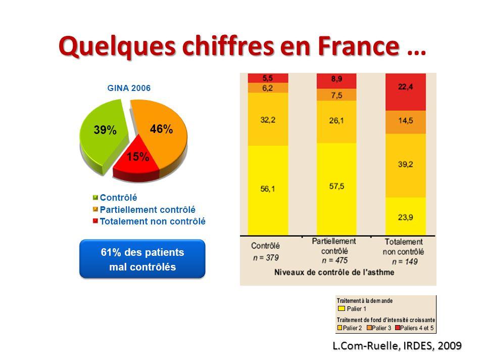 Quelques chiffres en France Quelques chiffres en France … L.Com-Ruelle, IRDES, 2009