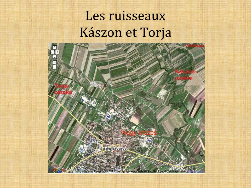 Les ruisseaux Kászon et Torja Nagy Mózes