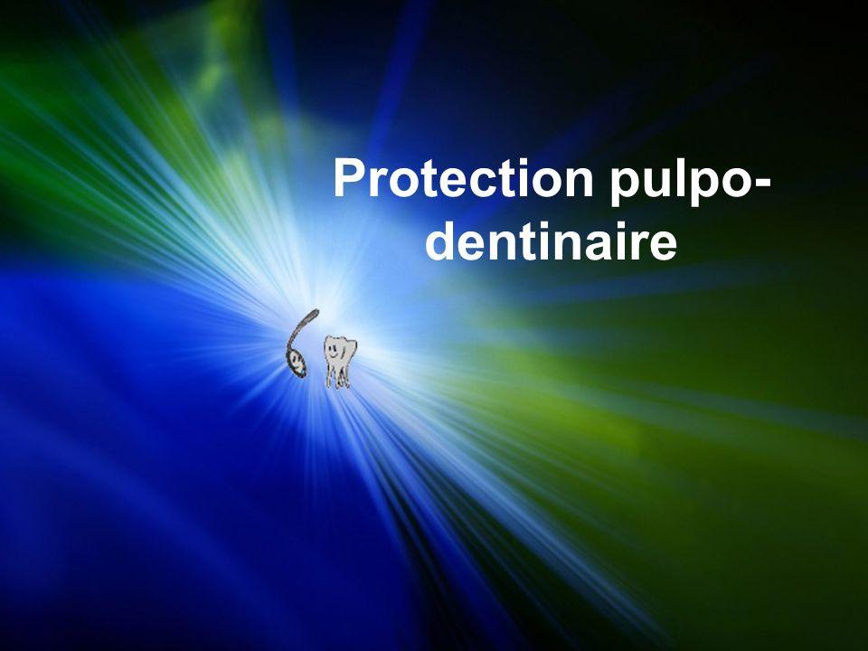 Definition.Objectifs de la protection pulpo-dentaire.