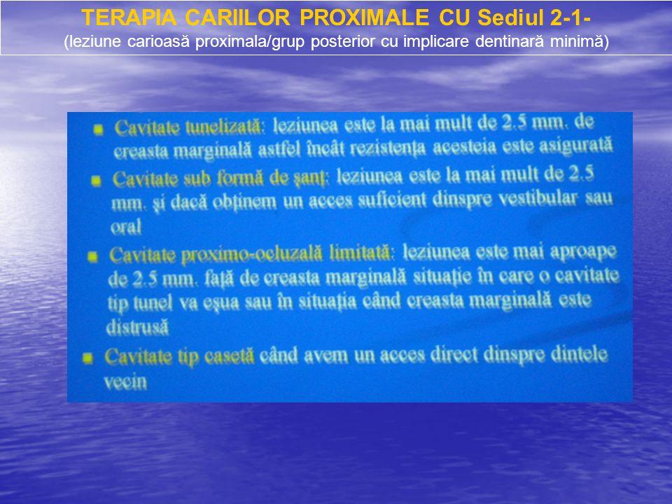 Les étapes cliniques de restauration des cavités de II ème classe avec des résines composites : 1.
