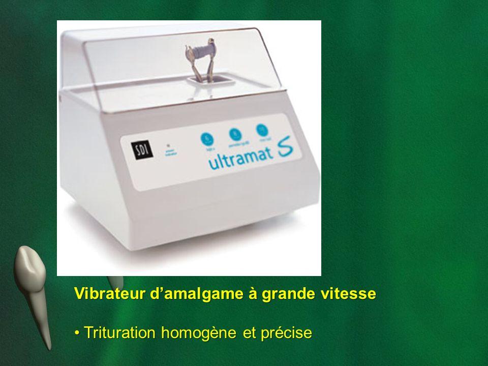 Vibrateur damalgame à grande vitesse Trituration homogène et précise