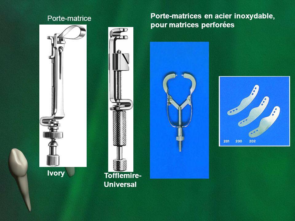 Ivory Tofflemire- Universal Porte-matrice Porte-matrices en acier inoxydable, pour matrices perforées