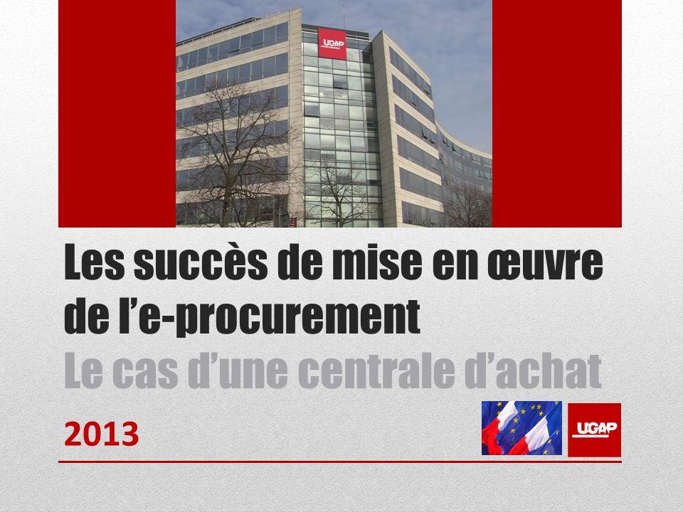 Les succès de mise en œuvre de le-procurement Le cas dune centrale dachat 2013