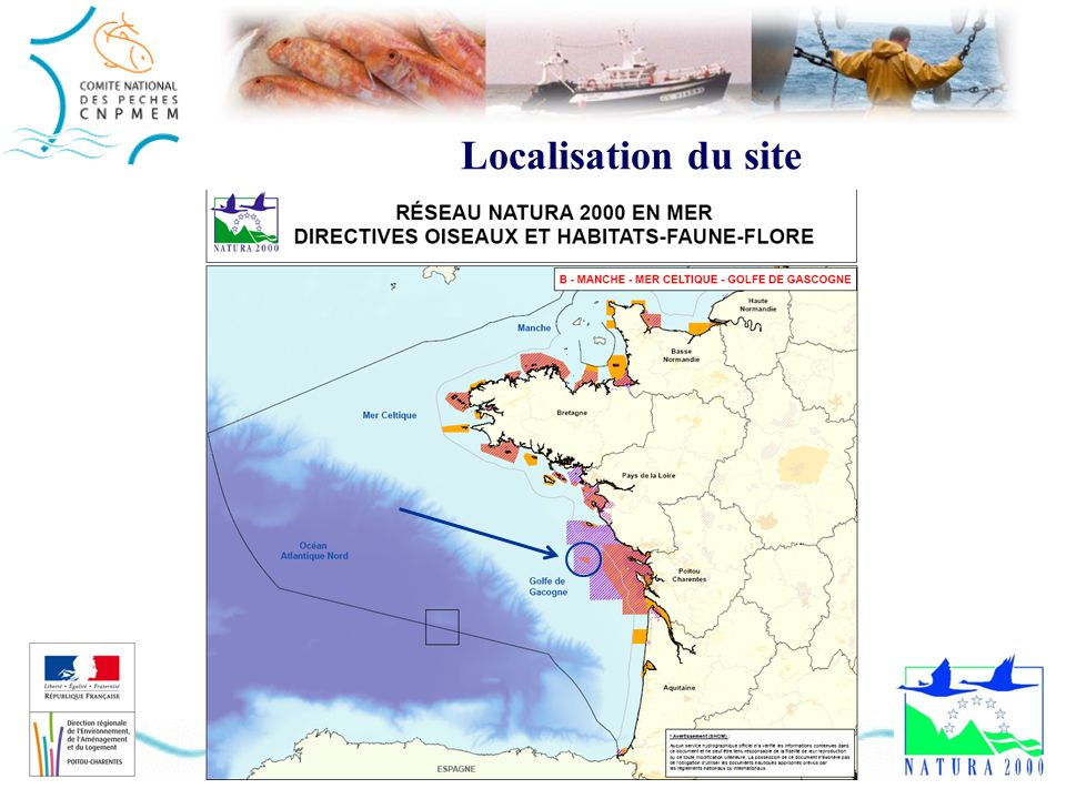 Localisation du site