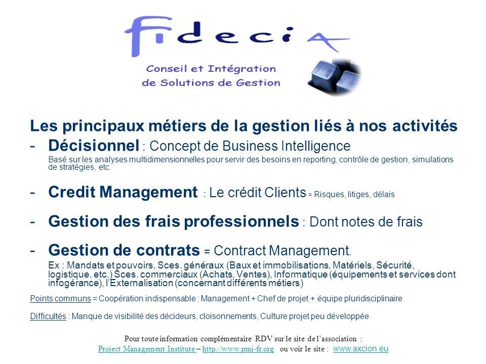 Pour toute information complémentaire RDV sur le site de lassociation : Project Management Institute Project Management Institute – http://www.pmi-fr.org ou voir le site : www.axcion.euhttp://www.pmi-fr.orgwww.axcion.eu 3 Quels sont les enjeux de gestion des contrats .