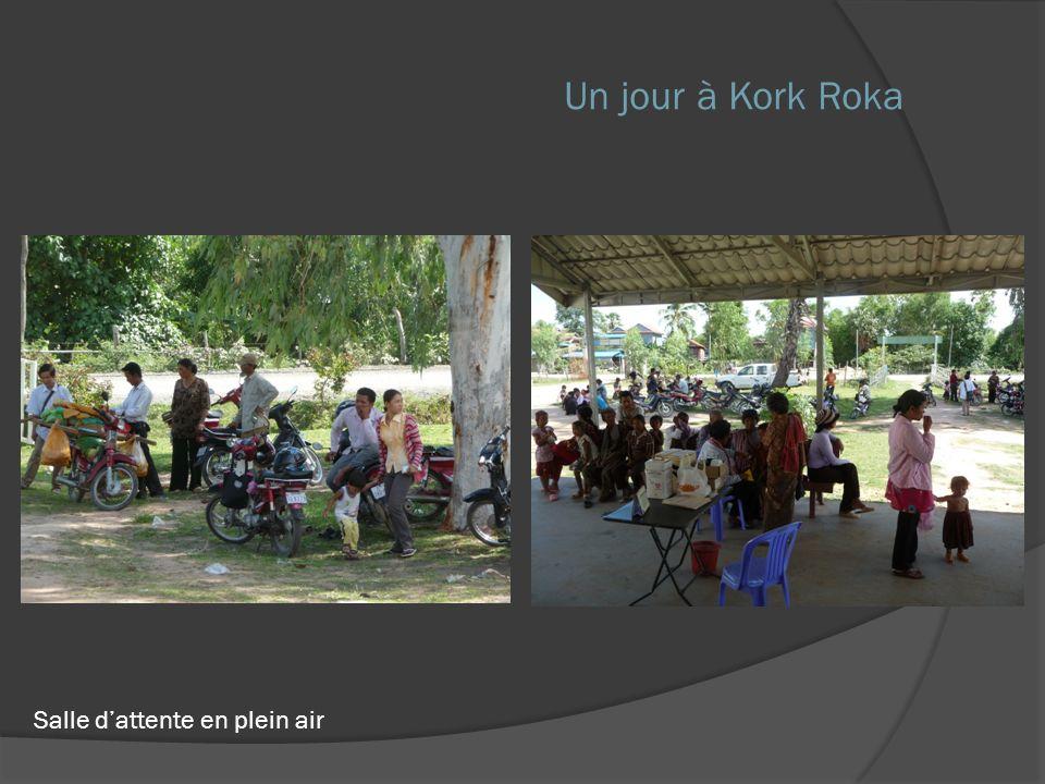 Salle dattente en plein air Un jour à Kork Roka