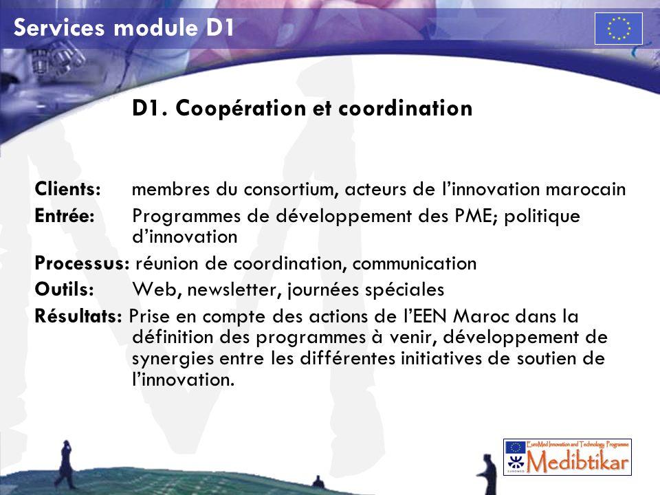 M Services module D1 D1.