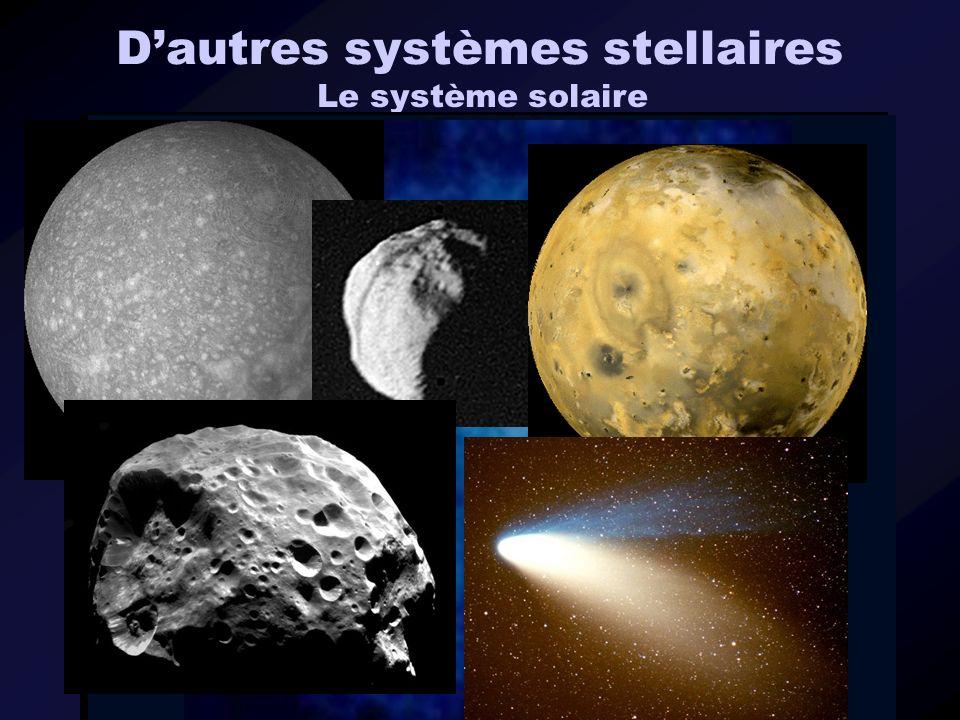 Dautres systèmes stellaires Le système solaire