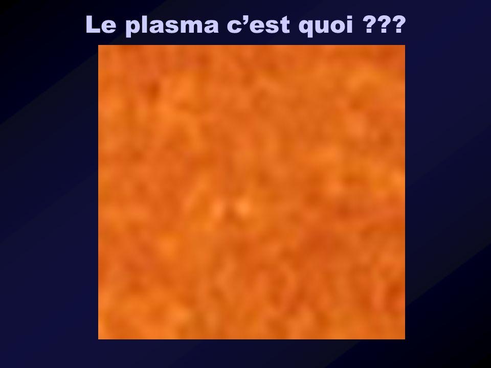 Le plasma cest quoi ???
