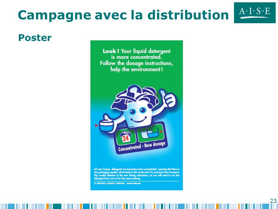 23 Poster Campagne avec la distribution